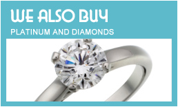 Platinum, Gold and Diamond Buyers - Best prices paid
